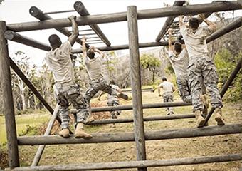 Lokalizacja żołnierzy podczas ćwiczeń wojskowych